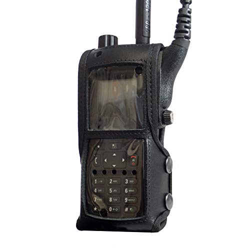 Motorola MTP6550 Tetra - Funda de piel para radio