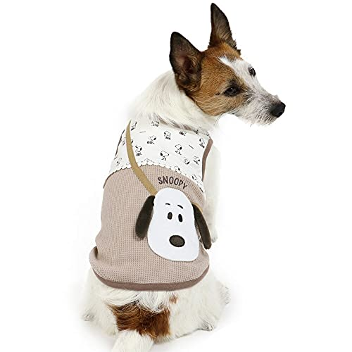 NEW 犬 服 夏 ペットパラダイス スヌーピー タンクトップ ポシェット ドッグウェア イヌ おしゃれ かわいい 【S】