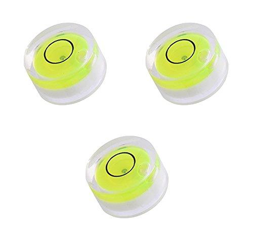 Mini-Wasserwaage, Libelle, rund, 3er-Pack, 12 mm Durchmesser
