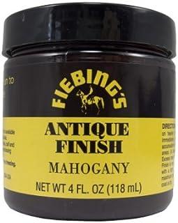 Fiebing s Mahogany Antique Finish Pasta, niet brandbaar, 118 ml
