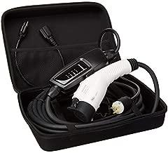 Book Engine Level 1+2 EV Charger(120-240V,16A,25ft) Portable EVSE Home Electric Vehicle Charging Station Universal