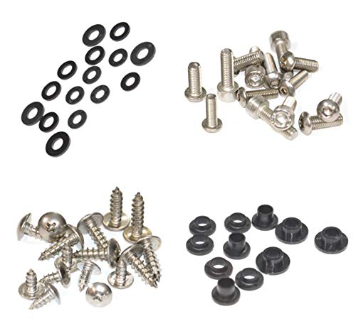 Standard Motorcycle Fairing Bolt Kit For Yamaha YZF-R6 1999-2002 Body Screws, Fasteners, and Hardware