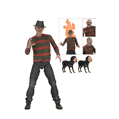 Nightmare On Elm Street- Figura de acción, Multicolor (NECA 39899)