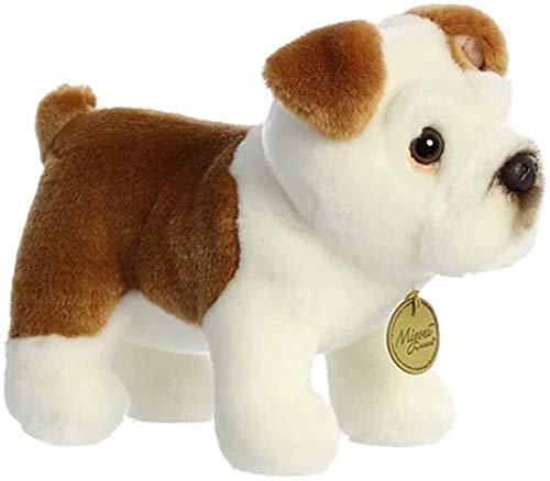 Aurora - Miyoni - 9'' Bulldog, White, Brown