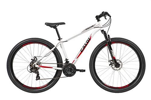 Bicicleta Aro 29 Caloi Vulcan Branca Tam. 15