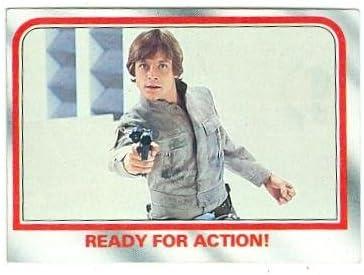 Luke Department store Skywalker trading card Empire Strikes 1980 T Back Star Wars Finally resale start