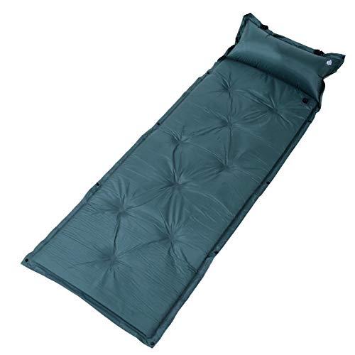 YLIKD Camping mat Outdoor Automatische Opblaasbare Tent Air Mattrice 190T Polyester Sponge Zacht Picknick Strand Enkele Splicing Camping Mat