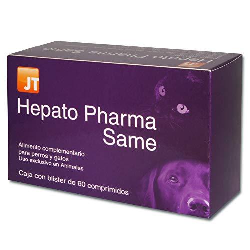 JTPharma Hepato Pharma Same - Alimento complementario para mascotas, 60 Comprimidos