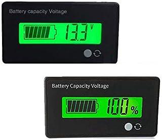 48V Battery Fuel Gauge Indicator Meter For Lead Acid Battery(SLA,AGM,GEL Battery),Fuel Gauge For Electric Bike,Fork Lift,ATV,Quads,Golf Cart, (48V Lead Acid Battery Fuel Gauge)