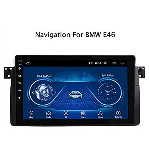 Android 9.0 estéreo Doble DIN Coche para BMW E46 M3 GPS 9 Pulgadas de Pantalla táctil Multimedia Radio Receptor carplay DSP RDS