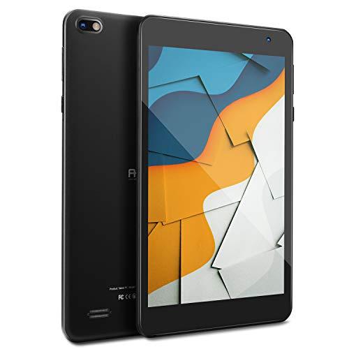 Tablet 7 Zoll FHD, 1080P IPS Sensor-Bildschirm, Android 10 Tablet, 2GB RAM, 32 GB Speicher, Quad-Core Prozessor, Wi-Fi, Bluetooth, Bildschirm mit Blaulicht-Filter zum Schutz der Augen (schwarz)