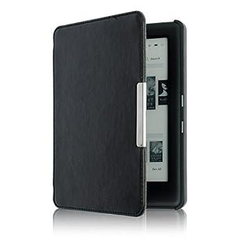 KOBO GLO HD 6.0inch Case Yoyorule Magnetic Auto Sleep Slim Cover Case Hard Shell  Black