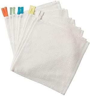 Baby Washcloth Towels (10 Pack) Cotton Ikea Krama