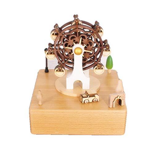 PZAIQ Figuritas Decorativas Carrusel Cumpleaños Día De San Valentín Regalo De Año Nuevo Ferris Wheel Gift Music Box