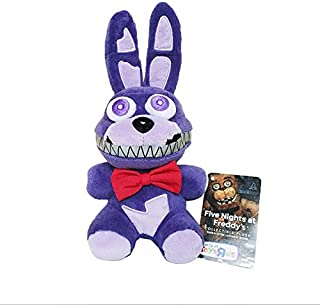 Panamat Movies & TV 18cm Five Nights at Freddy's 4 FNAF Nightmare Bonnie Rabbit Plush Toys Soft Stuffed Animals Toys Doll for Kids Gifts 1 PCs