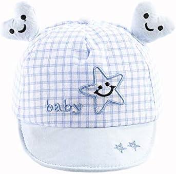 Nueva Caricatura Coreana de algodón Puro ala Suave tentáculos de Amor Gorra de niños Sombrero de bebé de Primavera