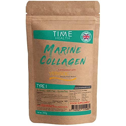 VERISOL Marine Collagen Peptides Powder - 300g - Type I - High in Protein - Hydrolyzed (Unflavoured)