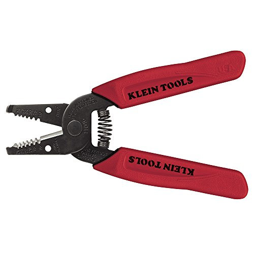 Klein Tools 11046 Wire Stripper/Cutter 16-26 AWG Stranded , Red