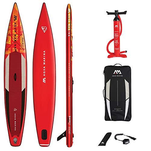"Aquamarina Race 12'6"" Tabla Sup, Adultos Unisex, Multicolor, Uni"