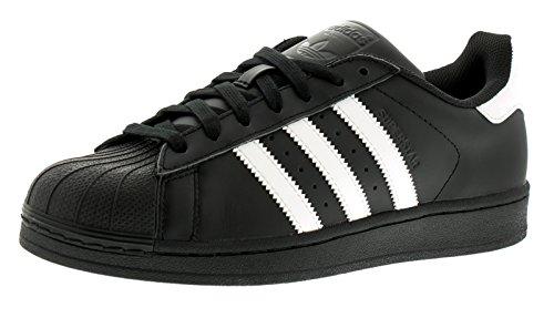 adidas Originals Superstar, Zapatillas Unisex Adulto, Negro (Core Black/ftwr White/Core Black), 41 1/3 EU