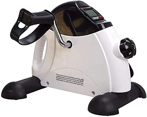 Mini máquina eléctrica de Ejercicios de rehabilitación Bicicleta estática portátil Monitor LCD Digital Equipo de Fitness