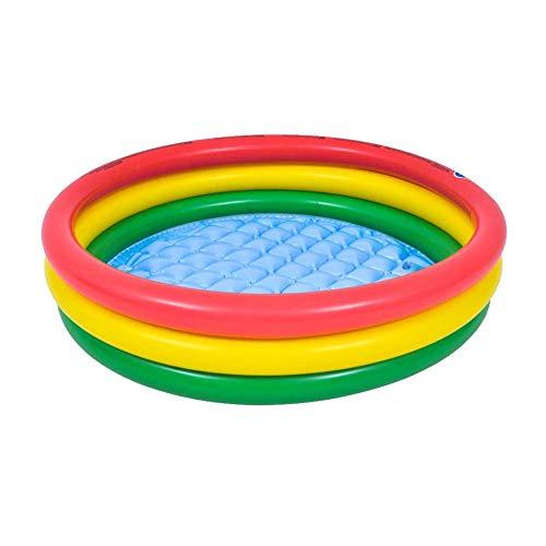 N-brand Bañera Inflable Piscina con Fondo de Burbuja Bañera Gruesa Salpicaduras Piscina de Bolas oceánicas Bañera