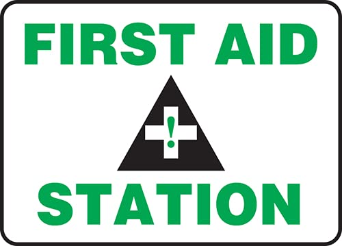Jendco - Safety Sign: First Aid 14