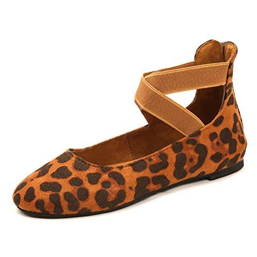 ShallGood Zapatos Mary Jane Terciopelo Las Mujeres