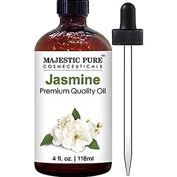 Majestic Pure Jasmine Fragrance Oil, Premium Quality, 4 fl. oz.