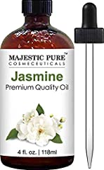 Premium Quality Jasmine Oil; mixture of isolated compounds; Packaged in the USA. Jasmine oil has a sweet, exotic and richly floral smell. It blends particularly well with bergamot, rose, sandalwood and all citrus oils. SAFETY WARNING: For external us...