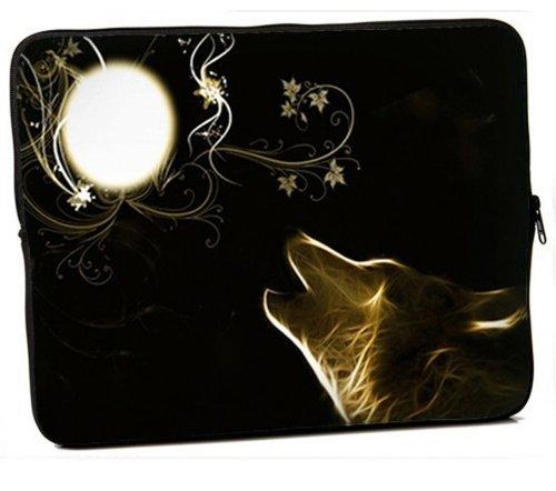 MySleeveDesign Laptoptasche Notebooktasche Sleeve für 10,2 Zoll / 11,6-12,1 Zoll / 13,3 Zoll / 14 Zoll / 15,6 Zoll / 17,3 Zoll - Neopren Schutzhülle mit VERSCH. Designs - New Moon [10]