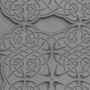 Cool Tools - Flexible Texture Tile - Celtic Knots - 4 X 2