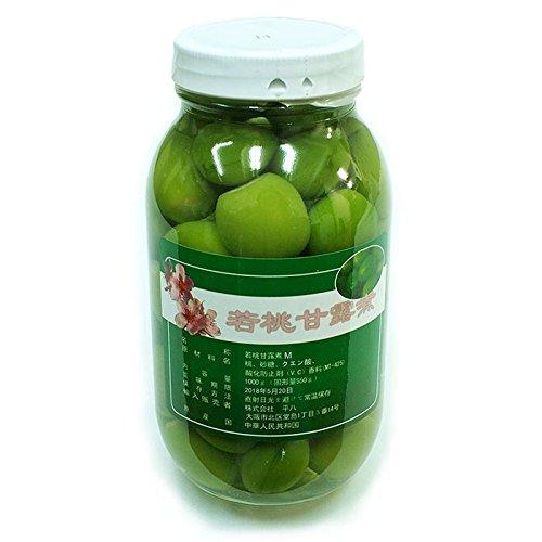 若桃甘露煮 1000g 【業務用】 (Mサイズ)