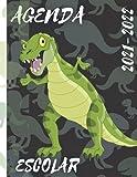 Agenda escolar 2021-2022: dinosaurios   Mítico   criaturas...