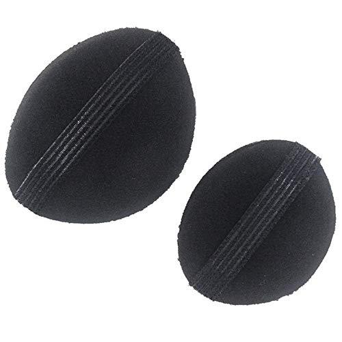 ERLIZHINIAN 1 Paire/Lot Hot Ventes éponge Cheveux Maker Styling Base de Cheveux Bump Styling Outil d'insertion Volume Accessoires Cheveux (Color : Black, Size : A)