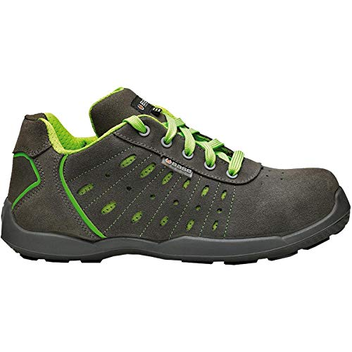 Base 16B671-S1P-T-44 Zapato anticaida, Gris, 44