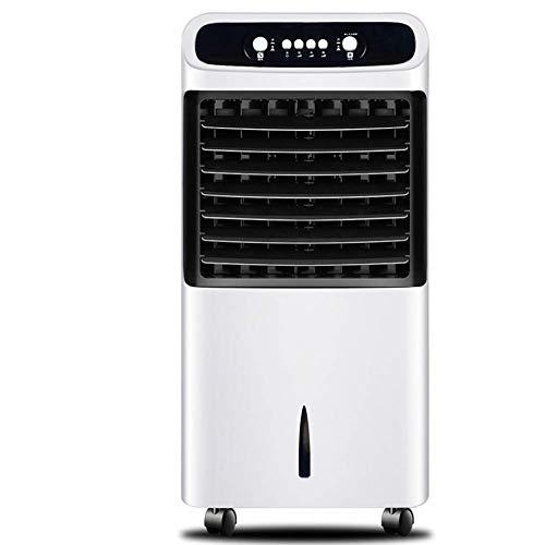 YBQ Einzel-gekühlter Klimaanlagen-Ventilator, 3 Geschwindigkeiten, Verdunstungskühler mit Rädern, Tastensteuerung, Luftkühler, geräuschloser Lüfter, Maschinen, 38,1 x 35,6 x 81,3 cm