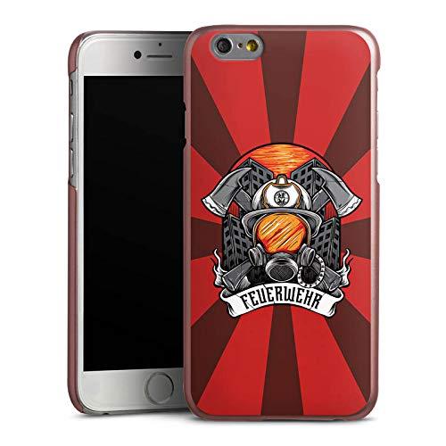 DeinDesign Hülle kompatibel mit Apple iPhone 6s Handyhülle Case Feuerwehr Rettungsdienst Feuerwehrmann