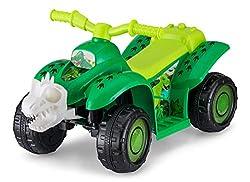 6. Kid Trax Kids Dinosaur Quad Ride On