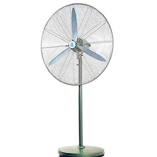 Vloerventilator met draaibare voet, ventilator voor koeling op voet, grote staande ventilator voor binnen, 26 inch, voor slaapkamer, kantoor, winkel, huis