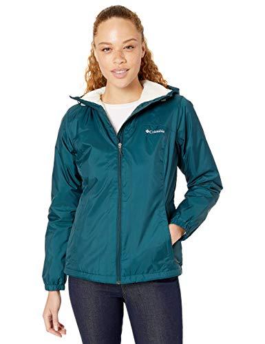 Columbia Damen Switchback Sherpa Lined Jacket Regenjacke, Dunkle Meere, 3X