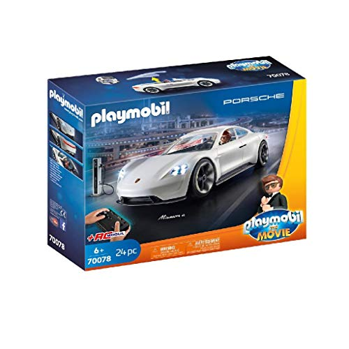 PLAYMOBIL:THE MOVIE 70078 Rex Dasher's Porsche Mission E, Ab 6 Jahren