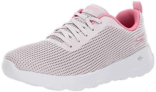 Skechers Womens Gowalk Joy Upturn Athletic Shoes 9.5 Beige/Pink