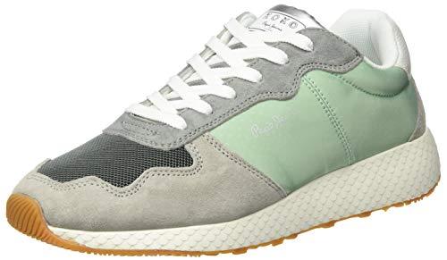 Pepe Jeans London Damen KOKO Cloud Sneaker, Mehrfarbig (Glass 509), 40 EU