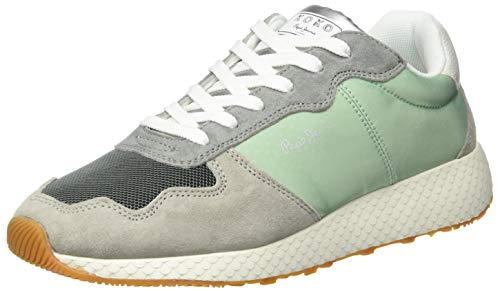 Pepe Jeans London Damen KOKO Cloud Sneaker, Mehrfarbig (Glass 509), 41 EU