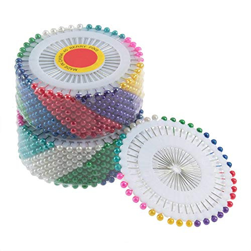480 Stücke Multi Runde Perle Kopf Schneiderei Pins Hochzeiten Corsage Floristen Nähwerkzeuge Frauen Mini Ball Kunsthandwerk Zubehör
