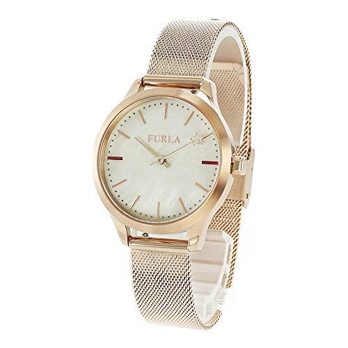 [フルラ]FURLA レディース ライク ローズゴールド シェル メッシュブレスレット R4253119505 腕時計 [並行輸入品]