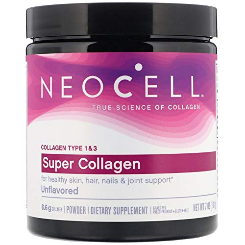 Neocell Super Collagen Type 1 and 3 Powder - 6600 Mg - 7 Oz, 200 g
