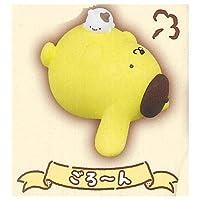 ポムポムプリン たべすぎちゃった☆ぷくぷくソフビ [2.ごろ~ん](単品)