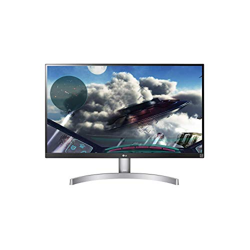 LG UHD 27UL600 - 27 Inch Monitor IPS LED 4K with VESA Display HDR 400, White